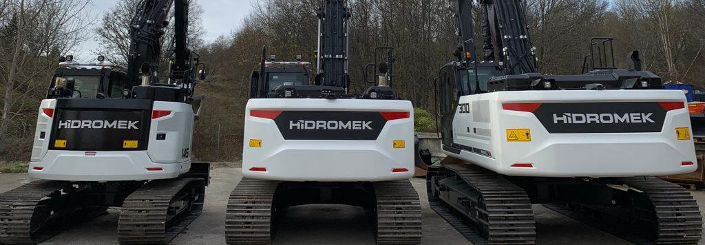 Grävmaskiner från Hidromek